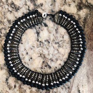 J. Jill Jewelry - beaded collar necklace.